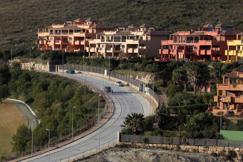 Urbanisatie in Andalusia, Spanje stock foto's