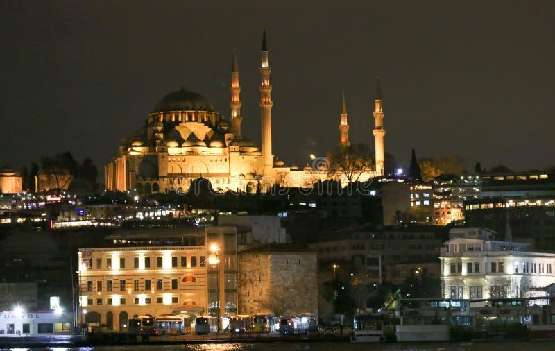 Nieuwe Valide Sultan Mosque stock fotografie