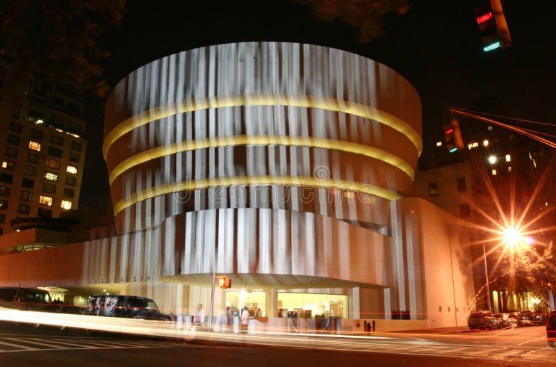 Nieuwe Voorzijde van Museum Guggenheim royalty-vrije stock foto