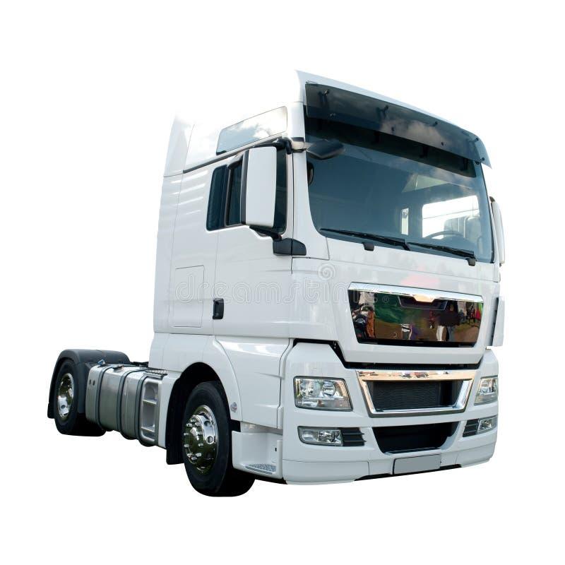 Nieuwe Vrachtwagen stock afbeeldingen