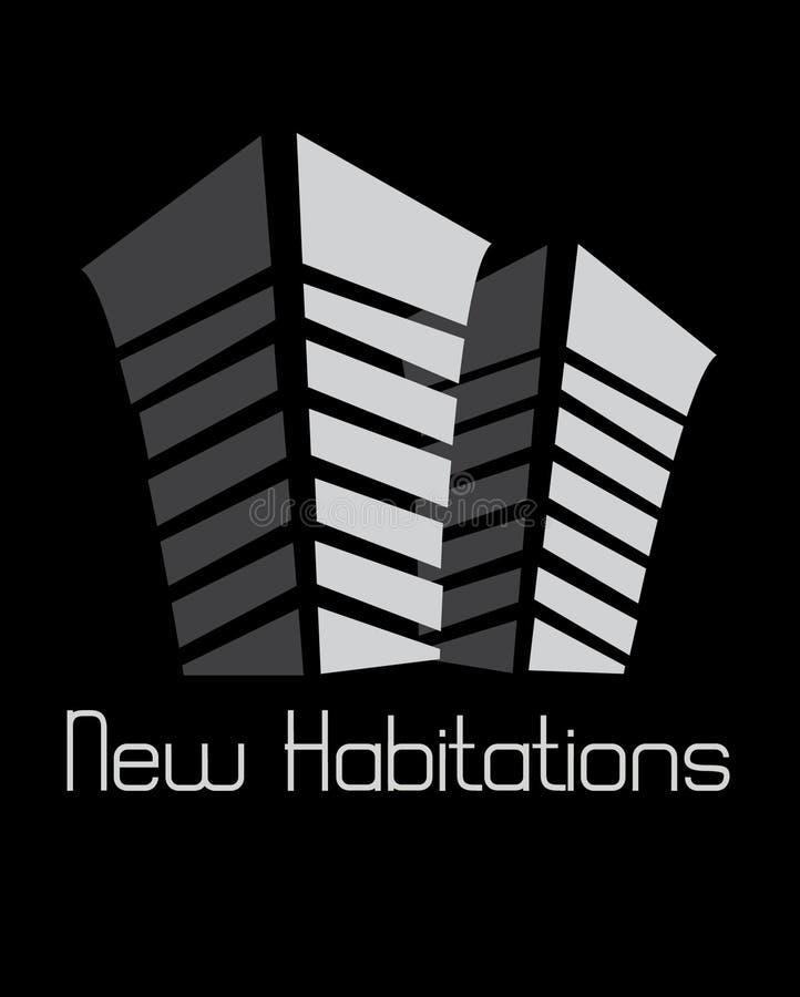 Nieuwe Woningen vector illustratie