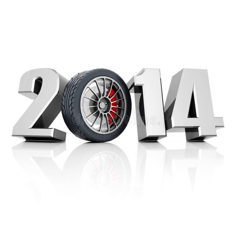 Nieuwjaar vector illustratie