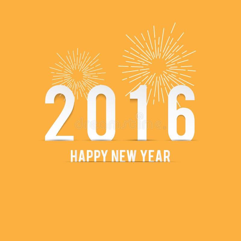 Nieuwjaar Minimalistische Geel stock foto's