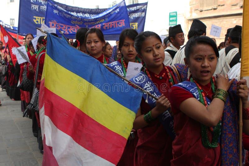 Nieuwjaar in Nepal royalty-vrije stock afbeelding