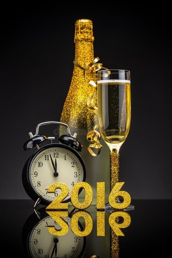 2016 nieuwjaarconcept royalty-vrije stock foto's
