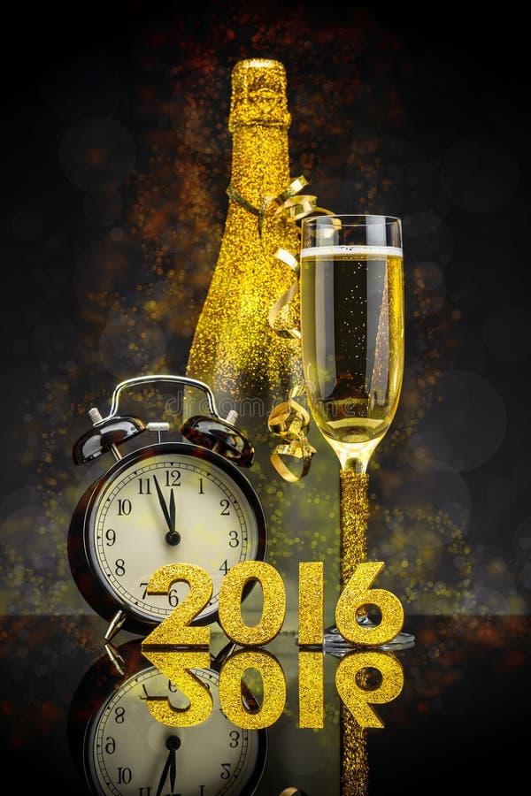 2016 nieuwjaarconcept royalty-vrije stock foto