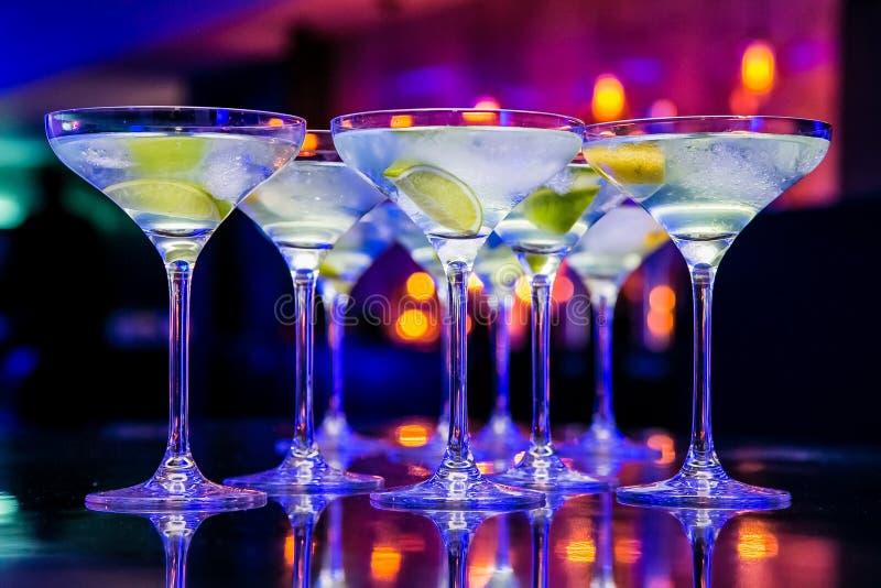 Nieuwjaardranken voor de Gebeurtenis van Gala Dinner of van de Cocktail party stock fotografie