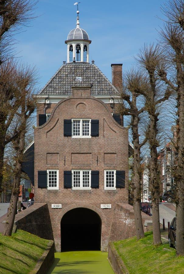 Nieuwpoort-Rathaus stockfotografie