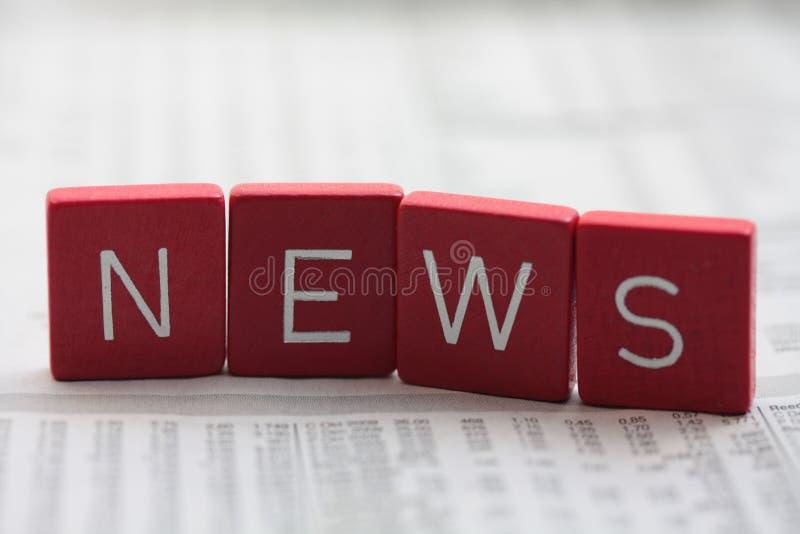 Nieuws! royalty-vrije stock foto's
