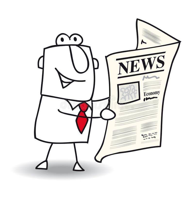 Nieuws royalty-vrije illustratie
