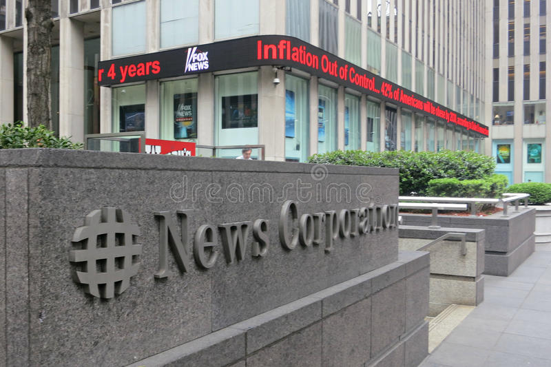 Nieuwsbedrijf stock fotografie