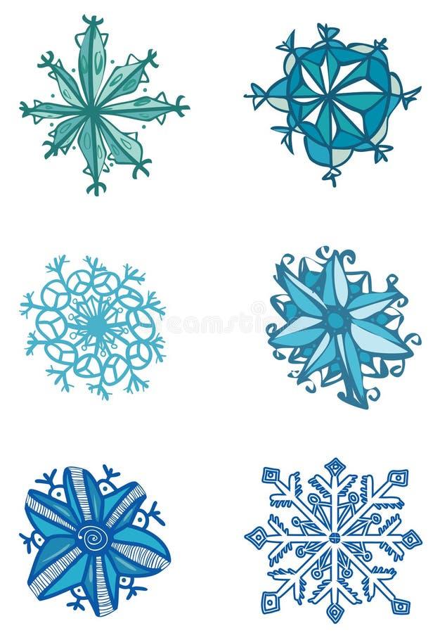 Nieve ilustración del vector