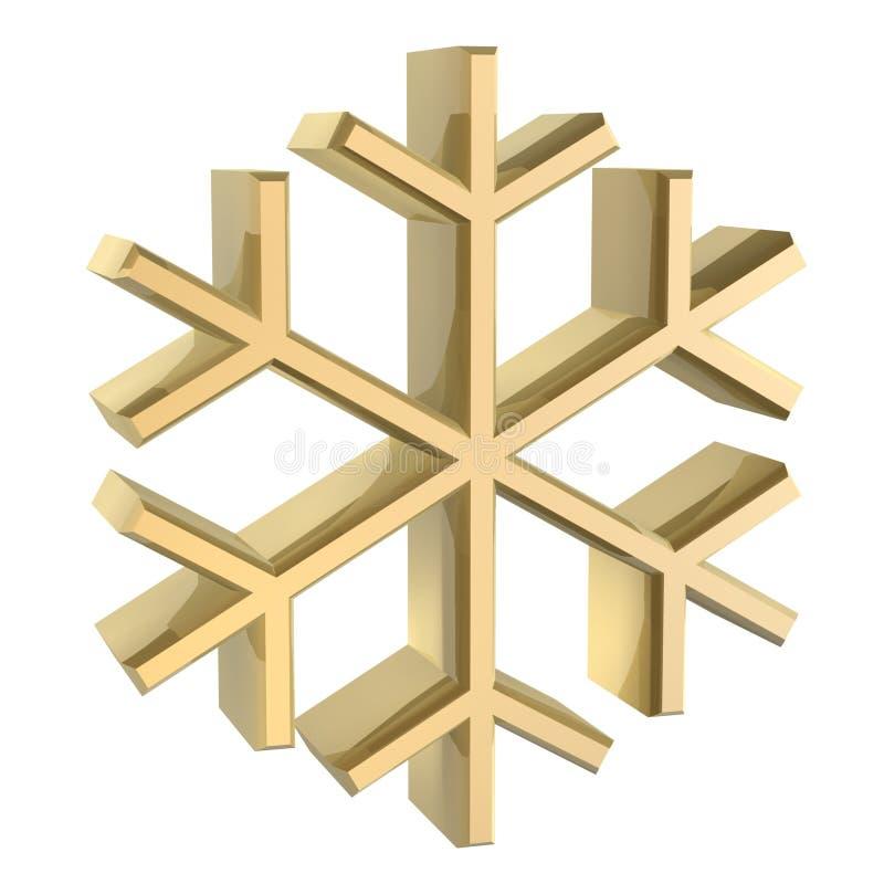 Nieve stock de ilustración