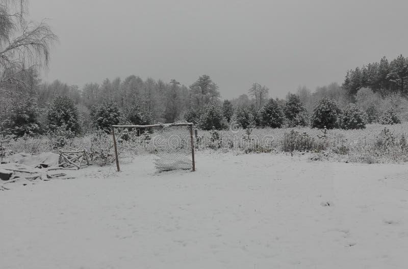 Nieve de la imagen de imagen del INVIERNO ZIMA fotos de archivo