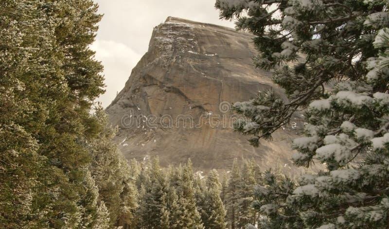 Nieve en la bóveda de Lembert fotos de archivo libres de regalías