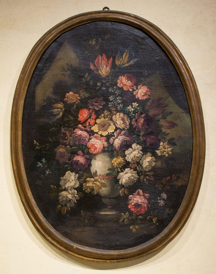 Niewiadomy artysta piękni kwiaty - Wciąż życie obrazy royalty free