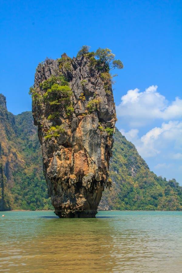 niewolna wyspa James Thailand fotografia royalty free