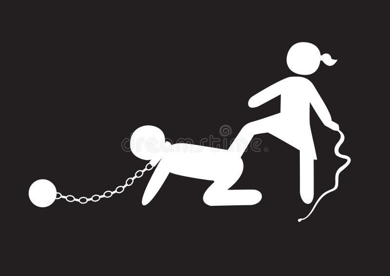 niewolnictwo obraz stock