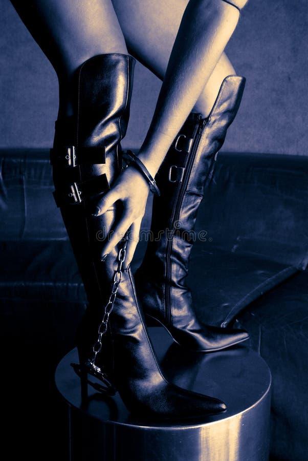 niewolnictwo buty zdjęcie stock