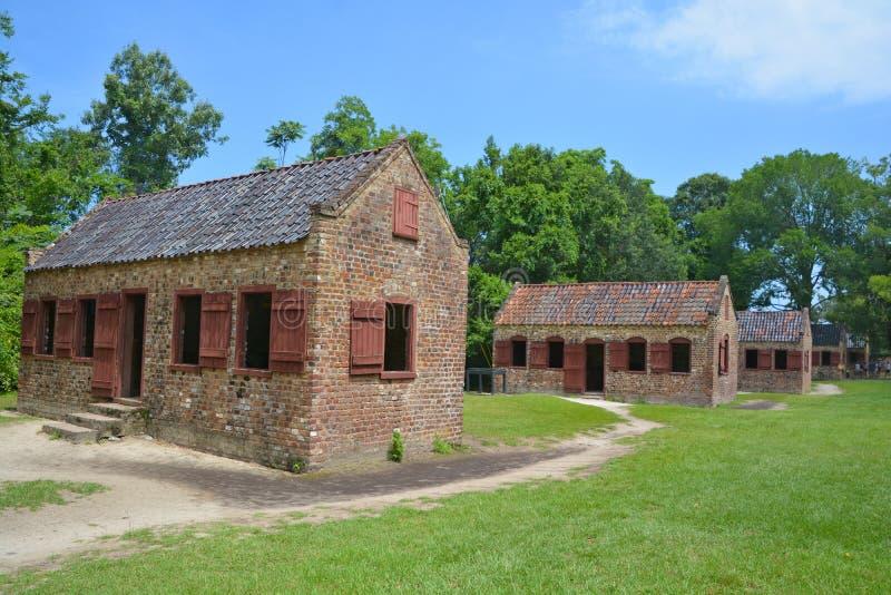 Niewolnicze kabiny obrazy stock