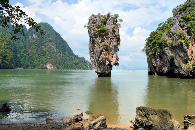 niewolny wyspy James nga phang Thailand obrazy royalty free