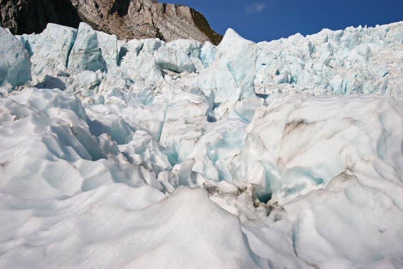 Niewygładzeni lodowa lodu kawały na górze obraz royalty free