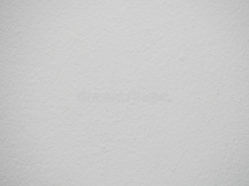 Niewygładzona biel ściana obrazy royalty free