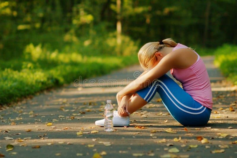 niezłe biegaczy young obraz stock