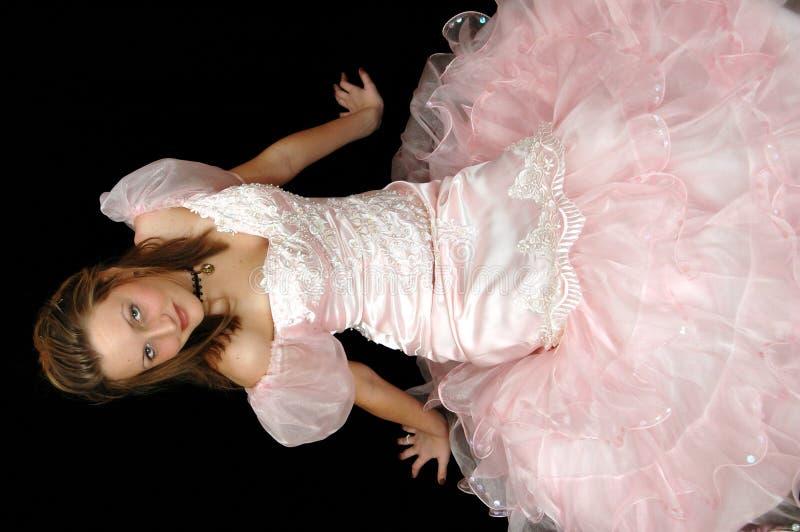 niezły bal różowego portret obrazy royalty free