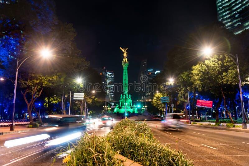 Niezależność anioł Meksyk zdjęcia stock