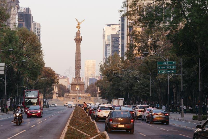 Niezależność anioł, Meksyk zdjęcie royalty free