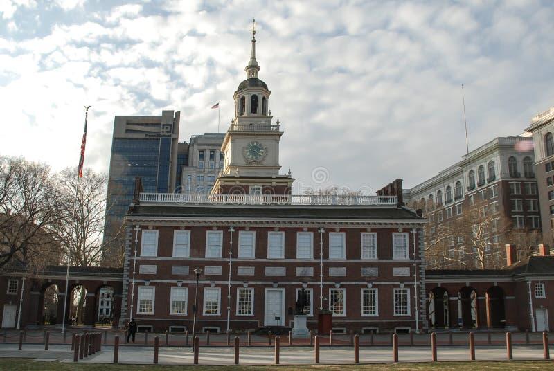 Niezależność Hall, Filadelfia, Pennsylwania, usa obraz stock