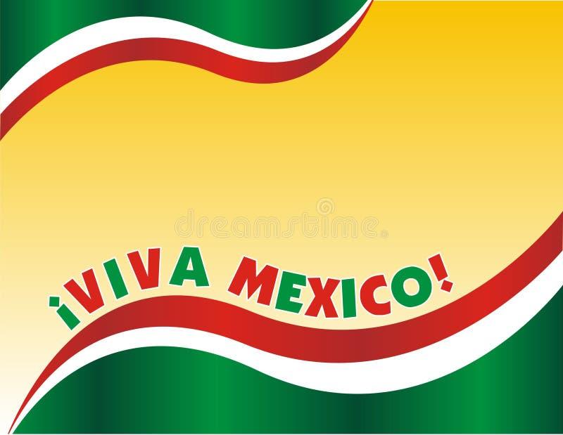 niezależność meksykanin ilustracja wektor