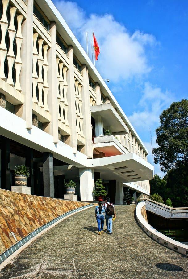 Niezależność pałac, Ho Chi Minh zdjęcie royalty free