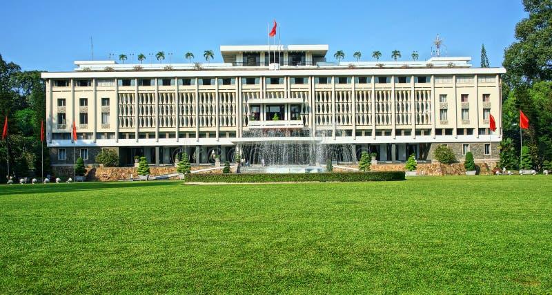 Niezależność pałac, Ho Chi Minh obrazy royalty free