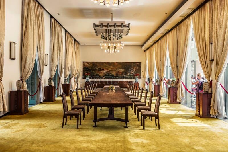 Niezależność pałac, także znać jako ponowne zjednoczenie pałac w Ch Ho fotografia stock