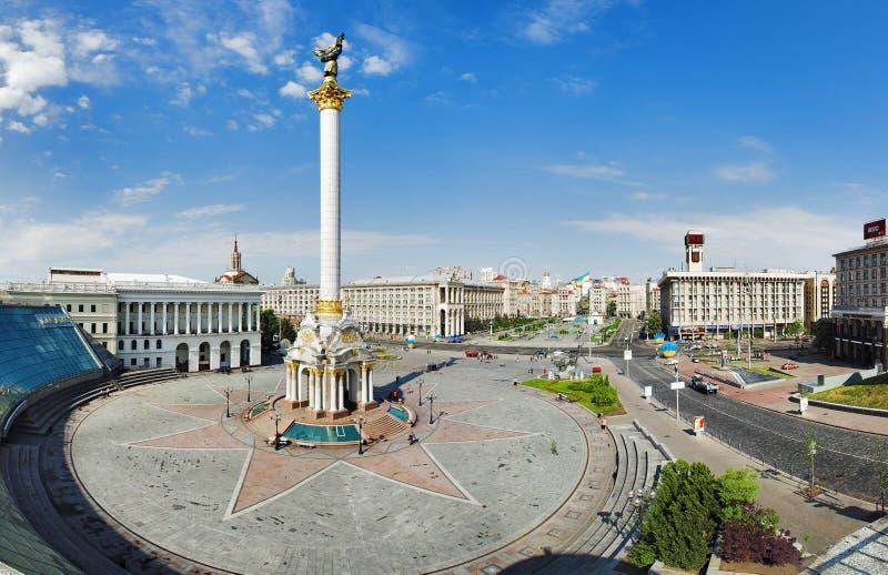 niezależności Kiev kwadrat fotografia royalty free