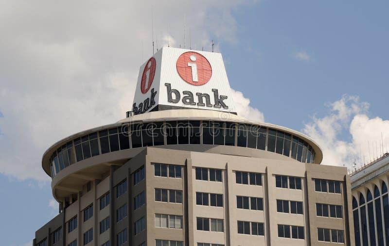 Niezależny banka logo fotografia royalty free