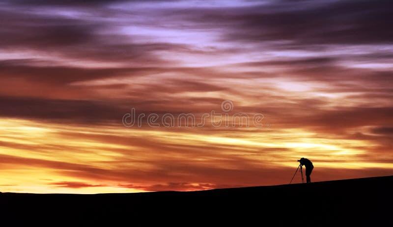 Niezapomniani wizerunki w marokańczyk pustyni zdjęcia royalty free
