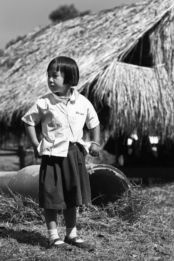 Niezidentyfikowani plemienni dzieci chcą edukaci sposobność obraz royalty free