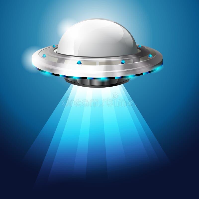 niezidentyfikowany przedmiota latający ufo royalty ilustracja