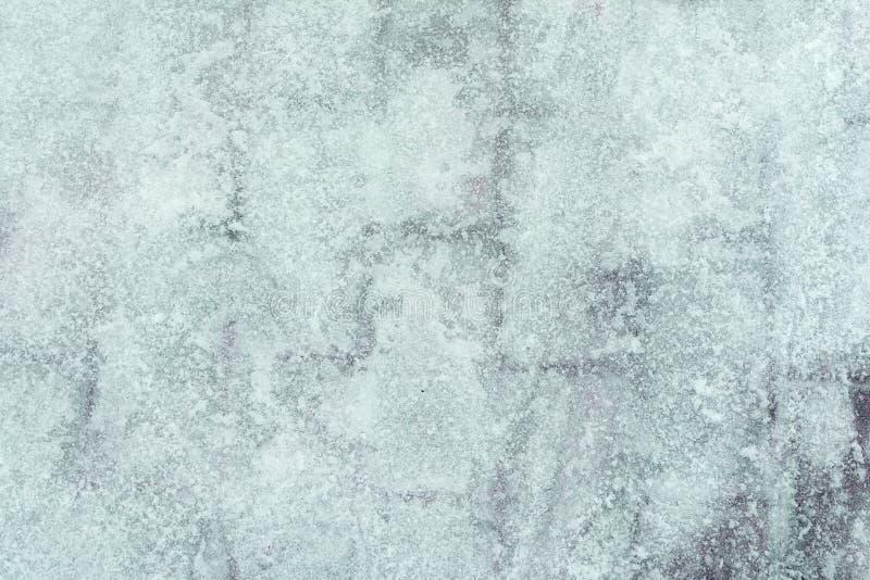 Niezwykły tło barwiony turkusu lód Abstrakcjonistyczny obrazek zamarznięta woda zdjęcie royalty free