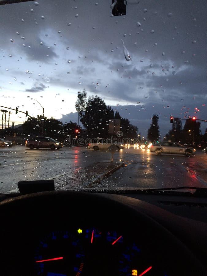 Nigdy deszcze w Kalifornia obrazy stock