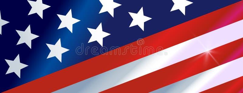 Nigdy Zapominamy 9 11 flaga ilustracja wektor