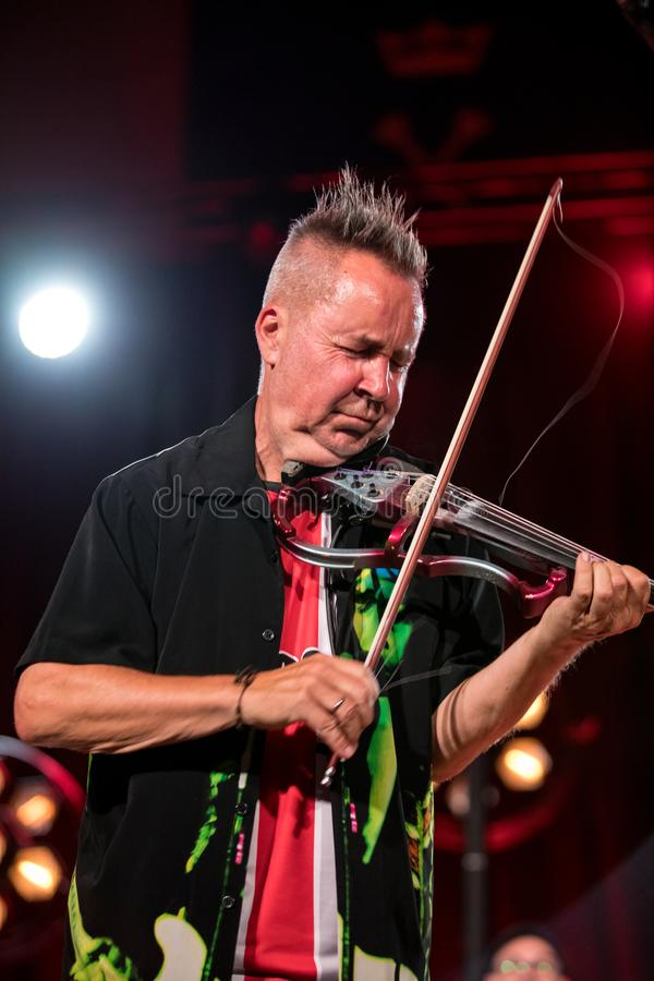 Nigel Kennedy And Mike Stern Plays Jimi Hendrix Editorial