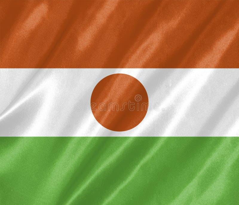 Niger Flag ilustración del vector