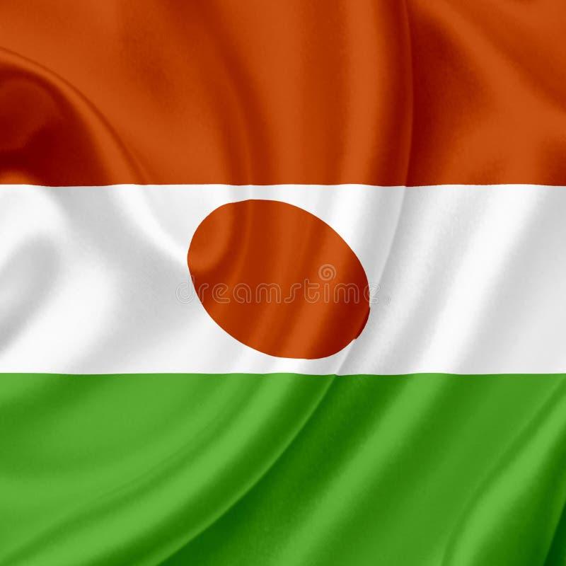 Niger vinkande flagga arkivfoto