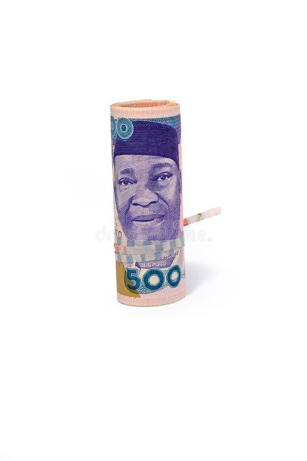 Nigeria naira zdjęcie royalty free