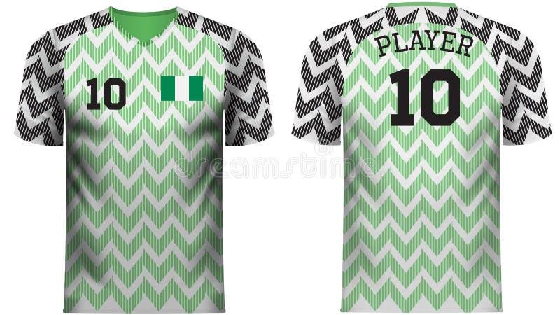 brand new 29372 87607 Nigeria National Team Jersey Fan Apparel Stock Illustration ...