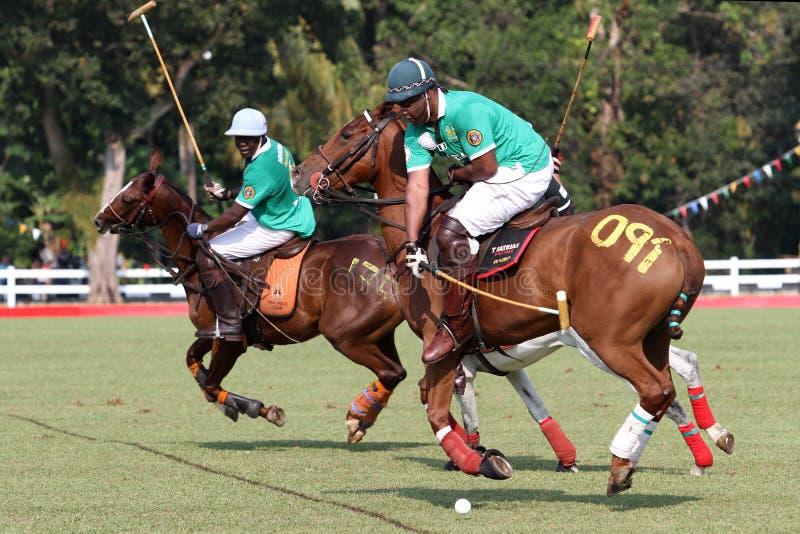 Nigeria polo captain stock images